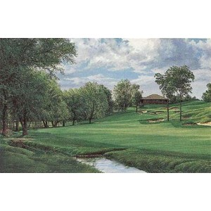 The 18th Hole, Muirfield Village Golf Club, Limited Edition, Artist Proof