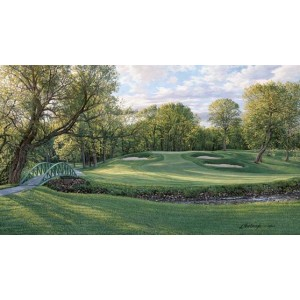2003 US Open Championship, The 12th Hole, North Course Olympia Fields, Limited Edition
