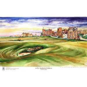 St. Andrews Old Course Road Hole, Limited Edition
