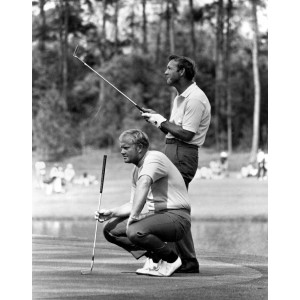Arnold Palmer and Jack Nicklaus-1972 Masters