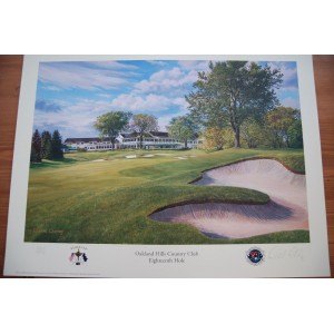 Limited Edition, 18th Hole, Oakland Hills, 35th Ryder Cup by Richard Chorley