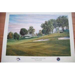 Limited Edition, 11th Hole, Oakland Hills, 35th Ryder Cup by Richard Chorley