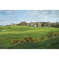 St Andrews The Old Course , Signed Open Edition Paper Print