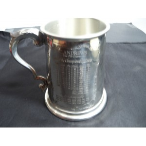 St. Andrews Golf 1 Pint Pewter Tankard