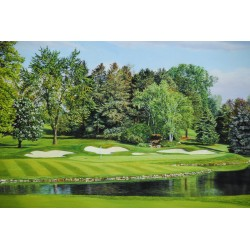 Oakland Hills Number 16 Giclee Print on Canvas (Large)
