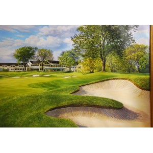 Oakland Hills Number 18 Giclee Print on Canvas (Large)